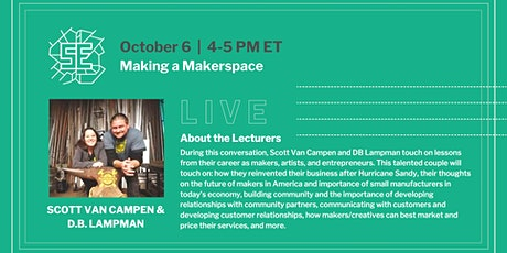 LIVE: Making a Makerspace tickets