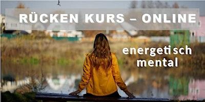 Rückenkurs-online: mental – energetisch