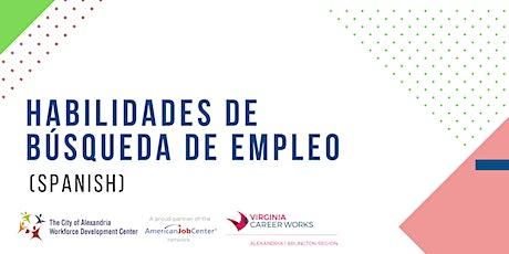 HABILIDADES DE BÚSQUEDA DE EMPLEO (Spanish) entradas
