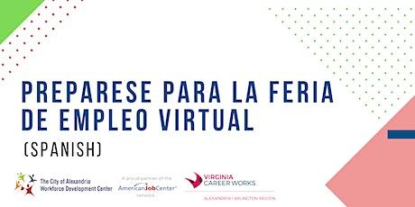 PREPARESE PARA LA FERIA DE EMPLEO VIRTUAL (Spanish)