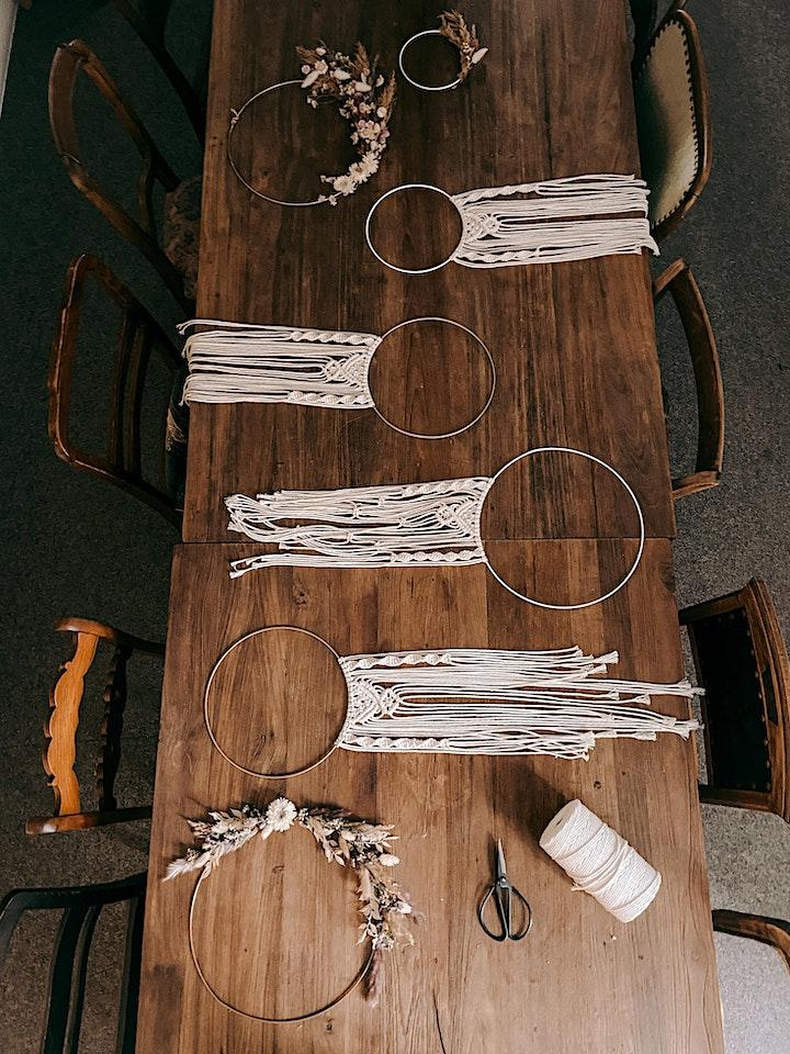 Makramee Ring Workshop in Berlin: Bild