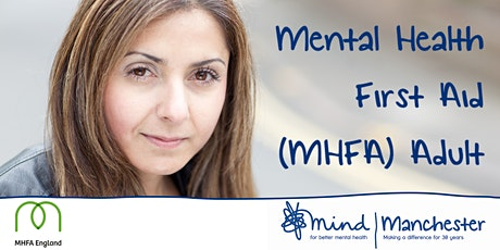 Mental Health First Aid Adult with Manchester Mind tickets
