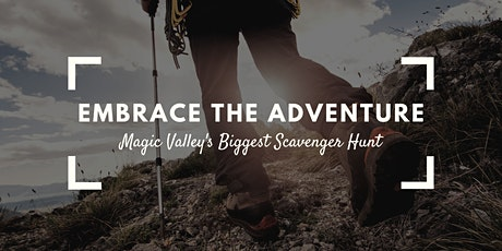 Embrace The Adventure Scavenger Hunt tickets