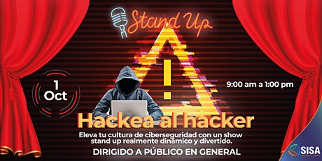 Stand Up  de Ciberseguridad | KAPA8 boletos