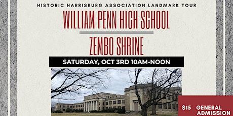 Landmark Tour: William Penn High School and Zembo Shrine tickets