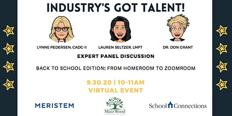 Industry's Got Talent - Back to School Edition: From HomeRoom to ZoomRoom tickets