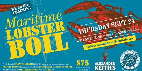 Alexander Keith's Lobster Boil 2020 tickets