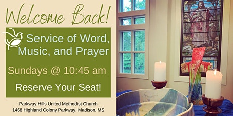 In-Person Service of Word, Music, and Prayer tickets
