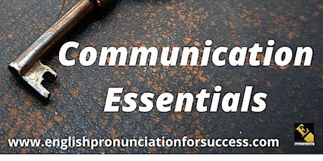 Communication Essentials Masterclass Single Ticket tickets
