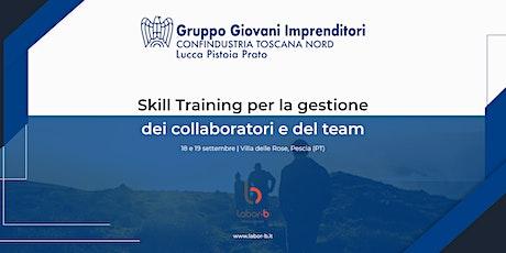 Skill Training per la gestione dei collaboratori  biglietti