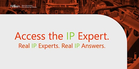 NGen's Access the Expert series. Real IP Experts. Real IP Answers. tickets