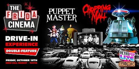 RetroPop Live! Halloween presents Chopping Mall + Puppet Master: Drive-In! tickets
