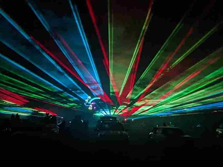 Drive- in Laser Safari Show at the Little Rock Zoo! image