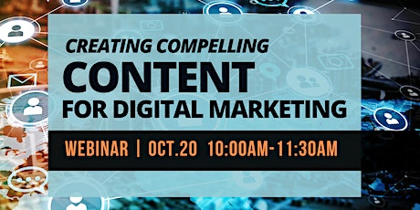Creating Compelling Content For Digital Marketing tickets