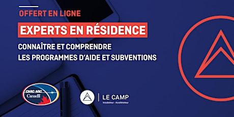 Connaître et comprendre les programmes d'aide et subventions du PARI-CNRC billets