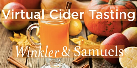 Virtual Cider Tasting tickets
