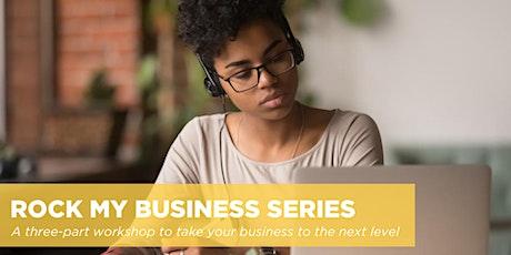 Rock  My Business Idea | Eastern + Atlantic Canada | Oct. 8, 2020 tickets
