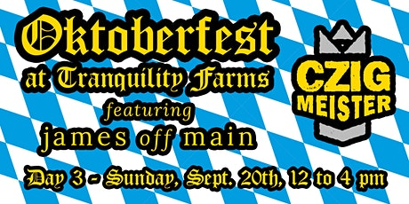 Oktoberfest - Day 3 (12 to 4 PM) tickets