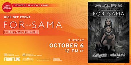 Films Across Borders: For Sama tickets