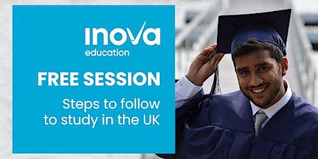 Estudia en el Reino Unido - sesión informativa en línea tickets