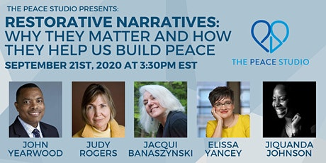 Restorative Narratives: Why They Matter And How They Help Us Build Peace tickets