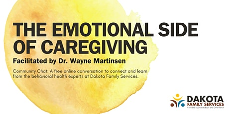 Community Chat: The Emotional Side of Caregiving tickets