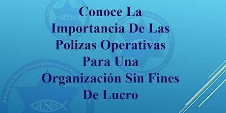 Importancia de Polizas Operativas para organizaciones sin fines de lucro entradas