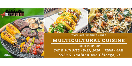 Multicultural Cuisine Food Pop-Up tickets