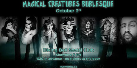 Magical Creatures Burlesque tickets