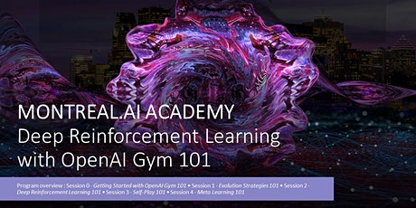 Deep Reinforcement Learning with OpenAI Gym 101 tickets