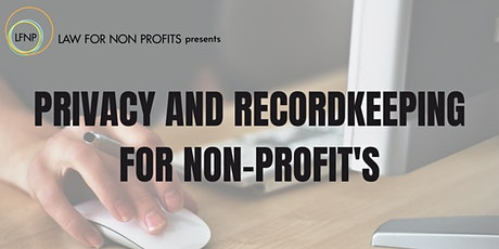 Privacy and Recordkeeping Workshop tickets