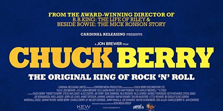 """FILM: """"Chuck Berry: The Original King  of Rock n' Roll"""" (NEW RELEASE) tickets"""
