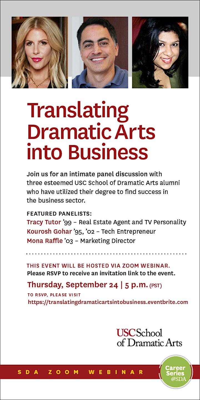 Translating Dramatic Arts Into Business image