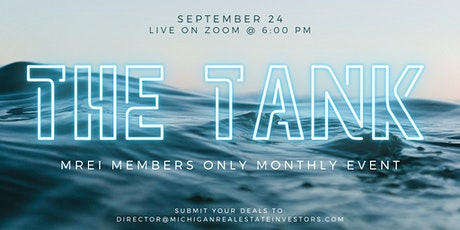 The Tank: Member's Only Monthly Shark Tank tickets