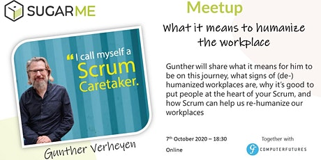 Meetup: What it means to humanize the workplace tickets