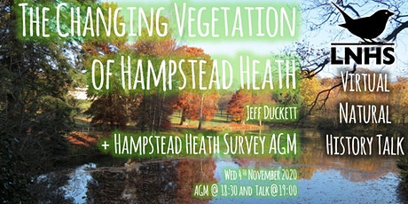 The Changing Vegetation of Hampstead Heath by Jeff Duckett and AGM