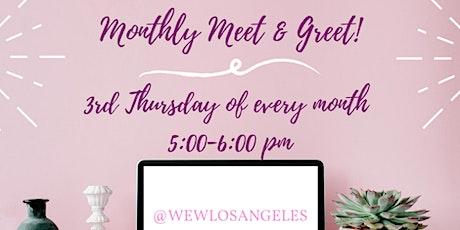 Virtual Meet and Greet! tickets