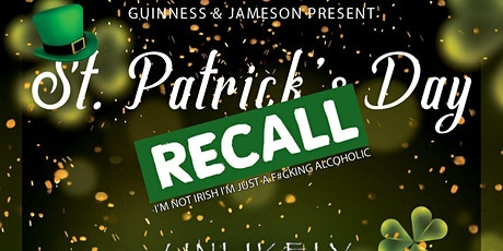 The St Patrick's Day Recall W/ Unlikey Souls & Friends tickets