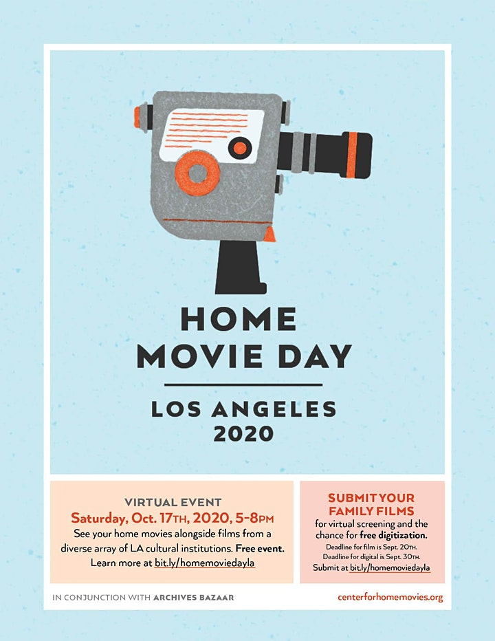 Home Movie Day Los Angeles 2020 image