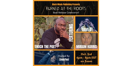 """Burned at the Roots"" Book Release Celebration tickets"