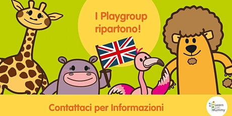 Presentazione playgroup Learn with Mummy Cremona per genitori biglietti