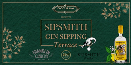 Sipsmith Gin Terrace at Hotel Gotham tickets