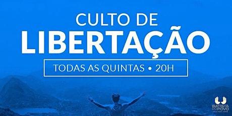 INSCRIÇÃO CULTO DE CURA E LIBERTAÇÃO - IBP VILA SÃO JOSÉ - 20H ÀS 21H30 ingressos