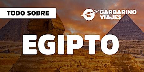 Encuentro Virtual: Bienvenidos a Bordo - EGIPTO entradas