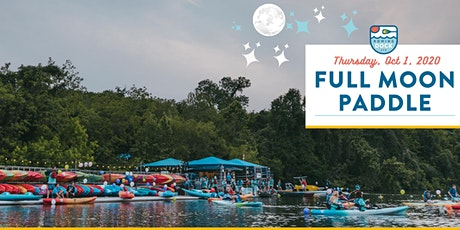October 1, 2020 Full Moon Paddle (8:00 PM - 10:00 PM) tickets