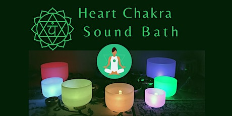 Heart Chakra Sound Bath Meditation tickets