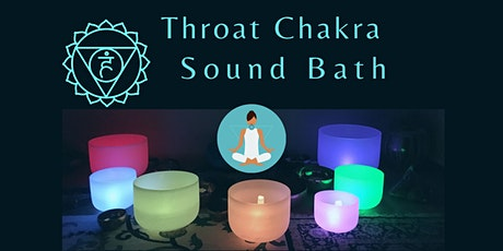 Throat Chakra Sound Bath Meditation tickets