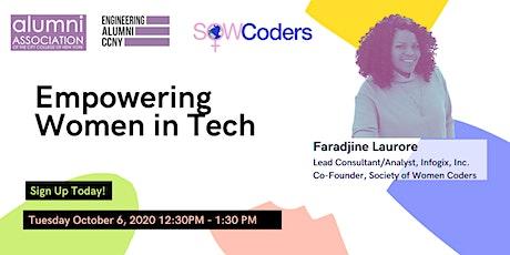 Empowering Women in Tech - SOW Coders Spotlight tickets