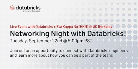Networking Night with Databricks tickets