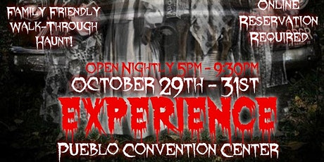 "The Halloween Horror Experience™ ""Nightmare Before Covid""™ tickets"
